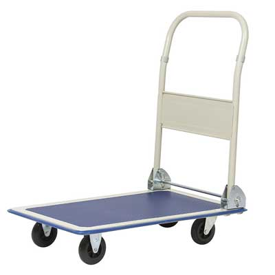 7. Platform Cart Folding Dolly Foldable Warehouse Moving Push Hand Truck by Best Choice Products