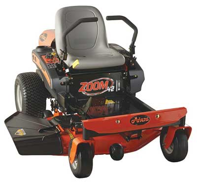 1. Zoom 42 - 19 HP Kohler 6000 Series V-Twin Zero Turn Lawn Mower from Ariens