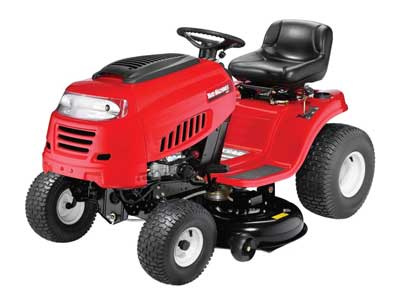 10. 42-Inch 420cc Riding Lawn Mower from Yard Machines