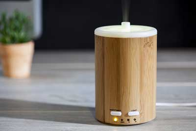 2. Aromatherapy Essential Oil Diffuser with Ultrasonic Aroma Humidifier – 150ml