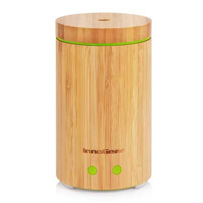 Best Essential Oil Diffuser - Bamboo Essential Oil Diffuser Ultrasonic Aromatherapy Diffusers