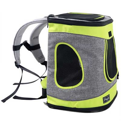 9. Petsfit Comfort Dogs Carriers Backpack - Go For Walk, Hiking And Cycling