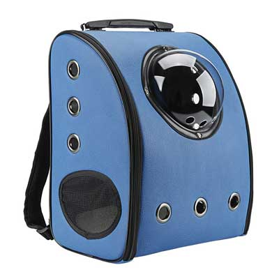 3. Innovative Traveler Bubble Backpack Pet Carriers for Cats and Dogs by Texsens