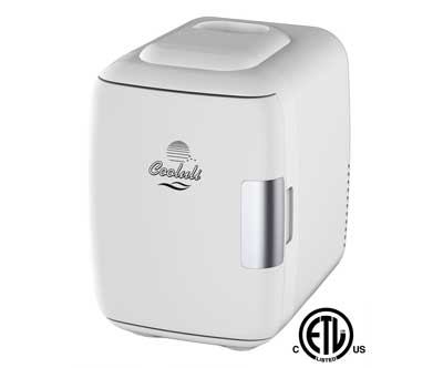 7. Cooluli Mini Fridge Electric Cooler and Warmer