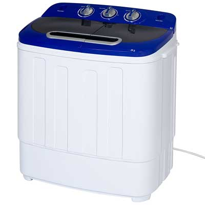 10. Best Choice Products Portable Compact Mini Twin Tub Washing Machine and Spin Cycle
