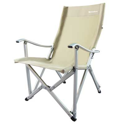2. OnwaySports Aluminum Frame Camping Chair Lightweight Foldable Portable for Camping