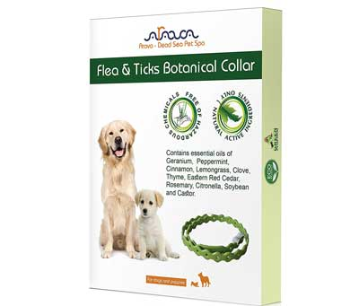 3. Arava Flea and Tick Control Collar for Puppies and Dogs