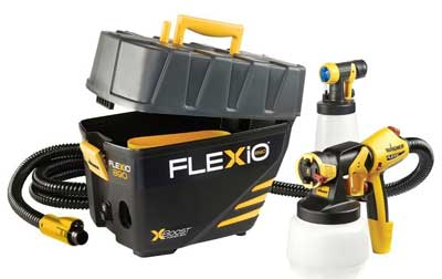 3. Wagner Flexio 890 Interior/ Exterior Hand Paint Sprayer