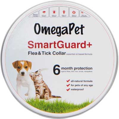 10. Best Flea Collar for Dogs - Natural Flea and Tick Collar by OmegaPet