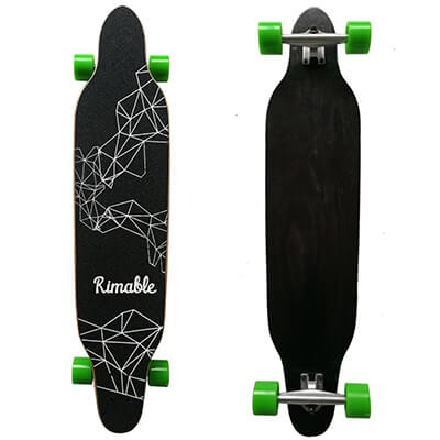 RIMABLE 42 inch freestyle top mount longboard