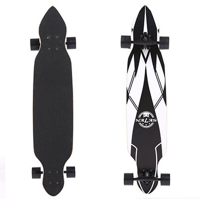 OANON 41 inch wooden drop down deck longboard