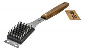 Barbecue Grill Brush and Scraper