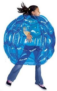 Blue BBOP Buddy Bumper Ball Inflatable Blow Up