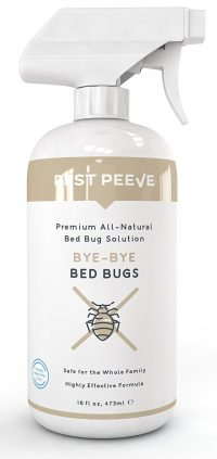 Bye-Bye Bed Bugs - Powerful, Natural Bedbug Killer Spray