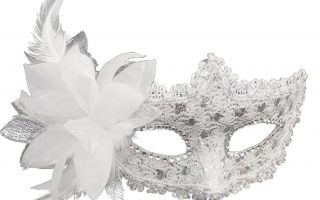 Coxeer Masquerade Mask for Women