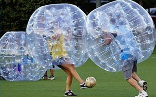 FREE SHIPPING Inflatable Bumper Bubble Balls