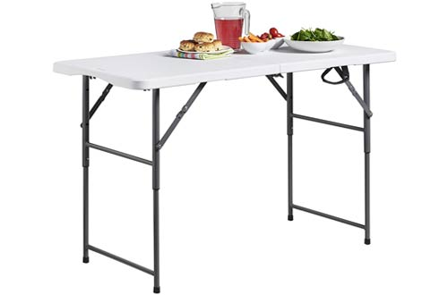 Adjustable Height Utility Table