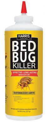 Harris Bed Bug Diatomaceous Earth Powder-Bed Bug Sprays