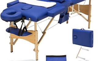 MSG 3 Fold Portable Facial Bed Massage Table