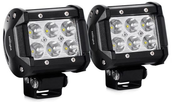 Nilight 2PCS 18W 1260lm Spot Driving Fog Light