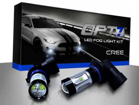 OPT7 H10 CREE LED DRL Fog Light Bulbs