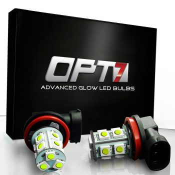 OPT7 Show Glow H10 LED Fog Light Bulb