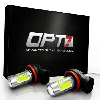 OPT7 Show Glow H11 LED Fog Light Bulbs