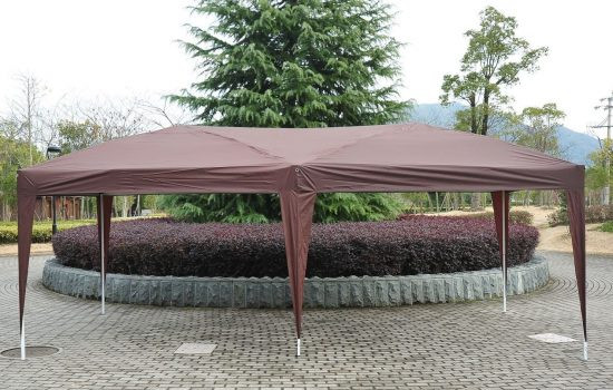 Outsunny Easy Pop Up Canopy Party Tent