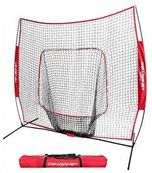PowerNet Baseball and Softball Practice Net - Baseball and Softball Practice Hitting Net by Rukket
