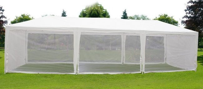 Quictent 10X30 Outdoor Canopy Gazebo Party Wedding tent Screen House Sun Shade Shelter