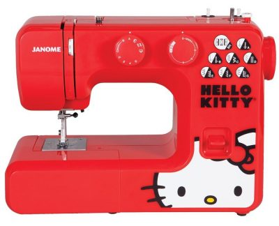 Red Hello Kitty Sewing Machine