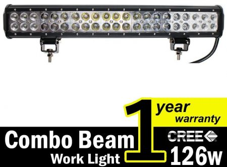 TMH 20'' Dual Row High Power-LED Light Bars