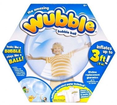 The Amazing WUBBLE Bubble Ball - Looks like a bubble