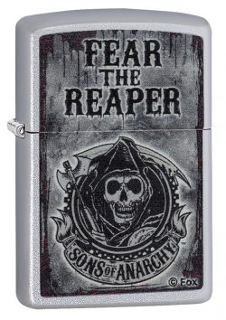 Zippo Sons of Anarchy Fear the Reaper Pocket Lighter