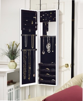 #1 Plaza Astoria WallDoor-Mount Jewelry Armoire