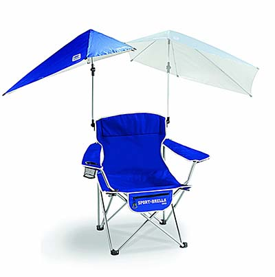 1. Sport-Brella Sun Protection Umbrella Chair - Best Portable Sports Brella