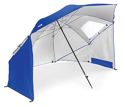 10. Sport-Brella Blue Portable Umbrella
