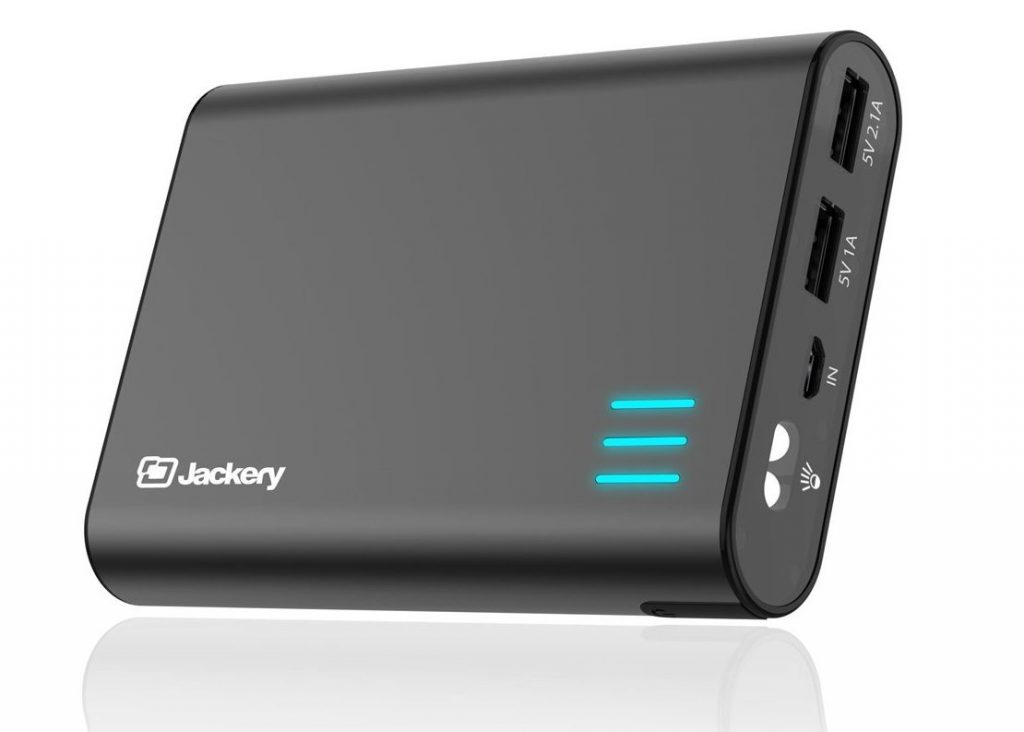 Jackery Giant+ Premium 12,000 mAh Dual USB Portable Battery Charger & External Battery Pack (Total 3.1A Output) - Power Banks For IPhone 7 & 7 Plus