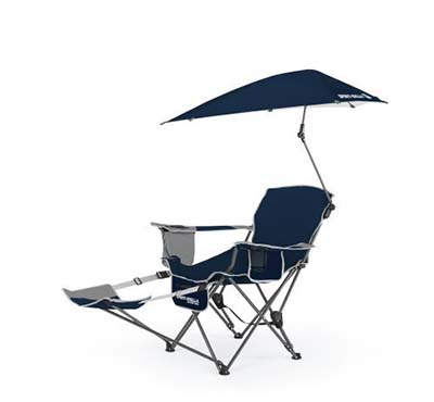 2. Sport-Brella Midnight Blue Recliner Chair