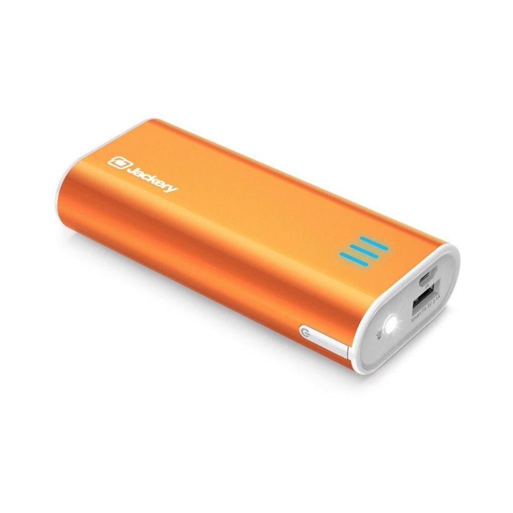 Jackery Bar Pocket-sized 6000mAh Ultra Compact Portable Charger (External Battery Power Bank) - Power Banks For IPhone 7 & 7 Plus