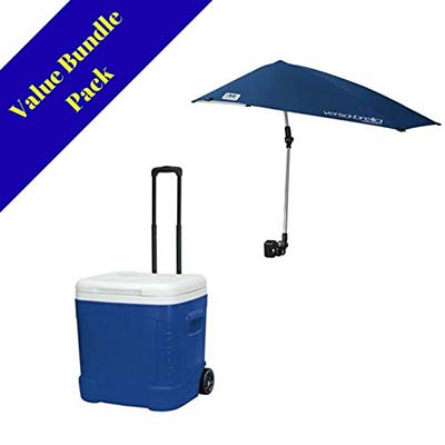 4. Sport-Brella Versa-Brella Midnight Blue Umbrella