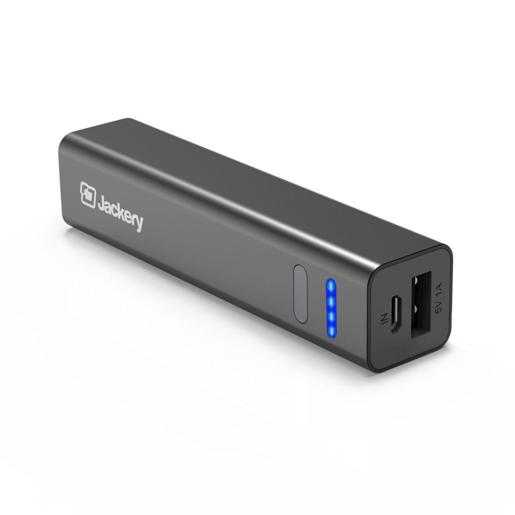 [The Smallest] Jackery Mini 3350mAh Portable Charger - Power Banks For IPhone 7 & 7 Plus