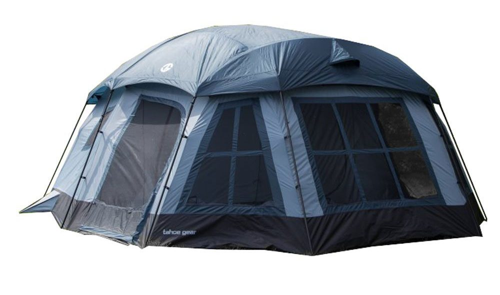 Tahoe Gear Ozark 3-Season 16 Person Large Family Cabin Tent  sc 1 st  TheZ9 & Top 10 Best 20 Person Tents in 2018 - Buyeru0027s Guide