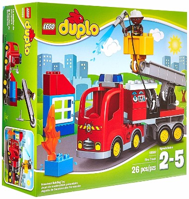#4 LEGO DUPLO Town Fire Truck