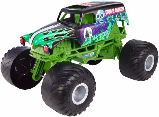 #5 Hot Wheels Monster Jam Giant Grave Digger Truck