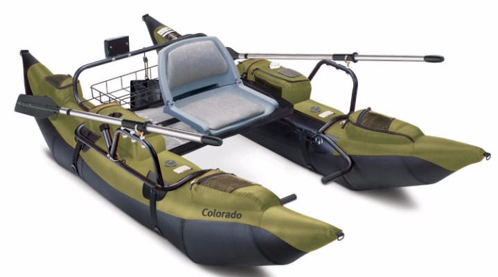 #6 Classic Accessories Colorado Inflatable Pontoon Boat