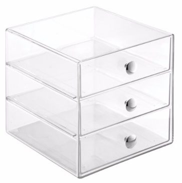 #6 InterDesign 3 Drawer Storage Organizer for Makeup