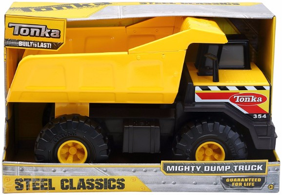 #6 Tonka Classic Steel Mighty Dump Truck Vehicle