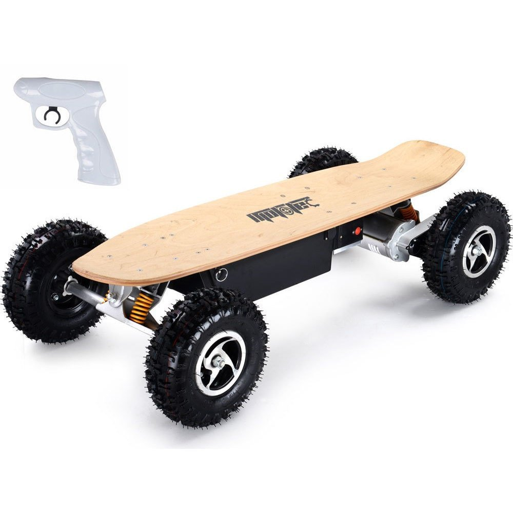 MotoTec MT-SKT-1600 1600w Dirt Electric Skateboard, Off-Road Skateboards