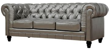 TOV Furniture Zahara Leather Sofa